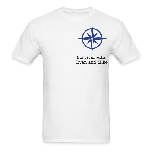 Survival with Ryan and Mike - Men's T-Shirt