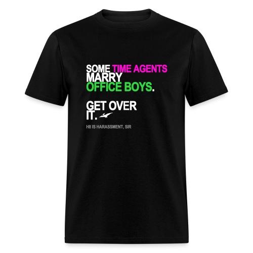 Some Time Agents Marry Office Boys Men's Black - Men's T-Shirt