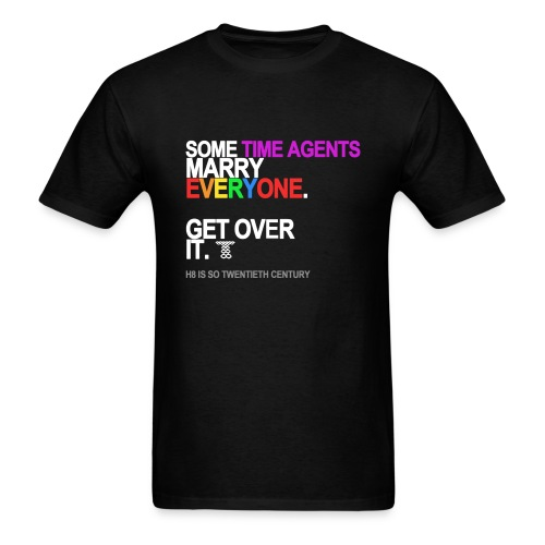 Some Time Agents Marry Everyone Men's Black - Men's T-Shirt