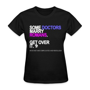 Some Doctors Marry Romans Women's Black - Women's T-Shirt