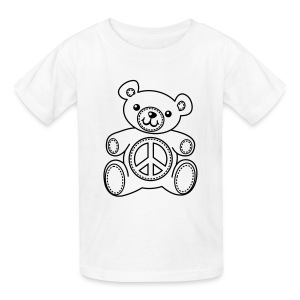 Teddy Bear Coloring T-shirt Kids' Shirts - Kids' T-Shirt