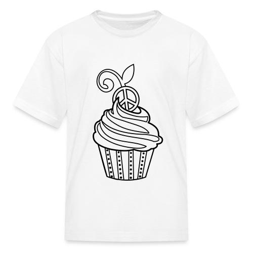 Cupcake Coloring T-shirt T-Shirt | Coloring T-shirts