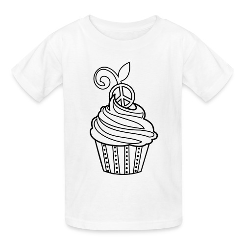 Cupcake Coloring T-shirt - Kids' T-Shirt