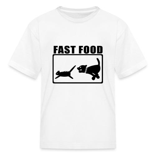 Childrens Fast Food T - Kids' T-Shirt