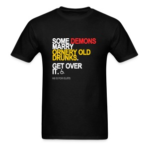 Some Demons Marry Drunks Men's Black - Men's T-Shirt