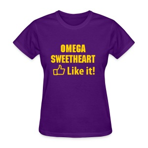 Que Sweetheart Like It! - Women's T-Shirt