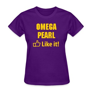 Que Pearl Like It! - Women's T-Shirt