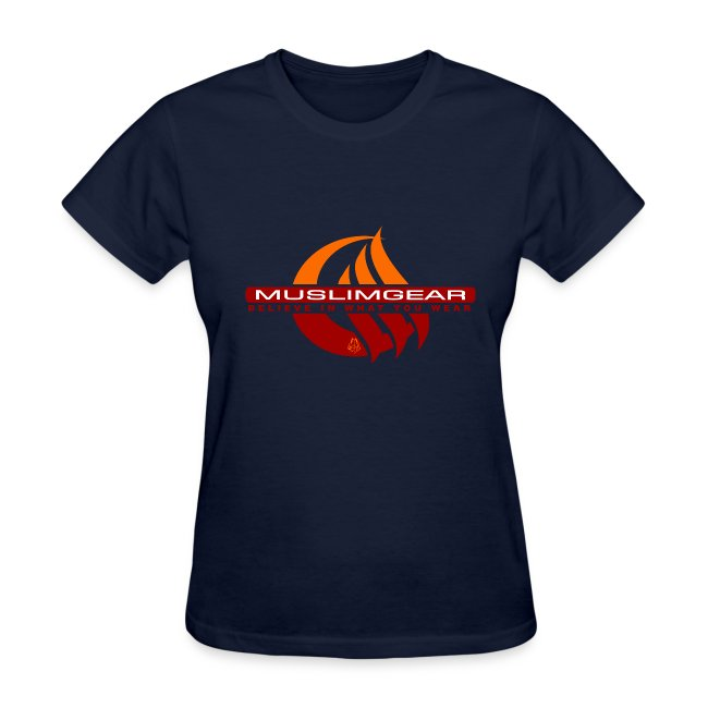 Moon wave women T-Shirt