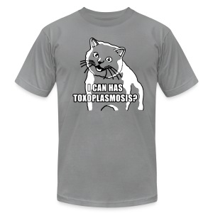 I CAN HAS TOXOPLASMOSIS? - Men's T-Shirt by American Apparel