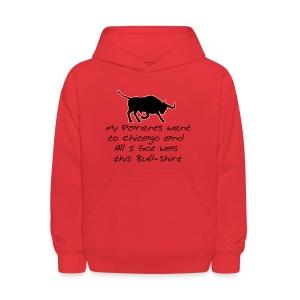 Bull Shirt - Kids' Hoodie