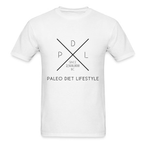 PALEO DIET LIFESTYLE light - Men's T-Shirt