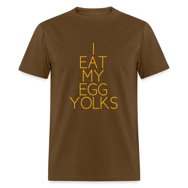 EGG YOLKS dark - Men's T-Shirt
