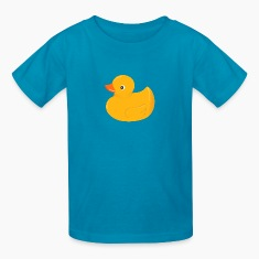 Yellow rubber duck Kids' Shirts