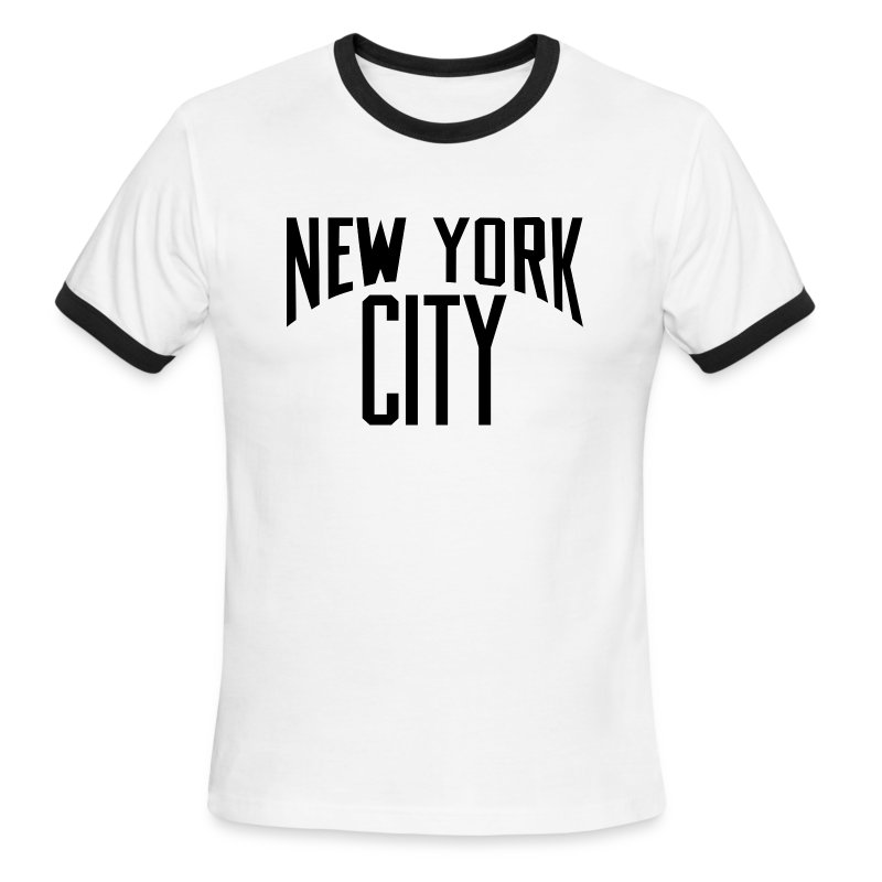 Lennon New York City T Shirt T Shirt Spreadshirt