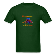 T-Shirts ~ Men's T-Shirt ~ Playground Enthusiast Cruel T-Shirt