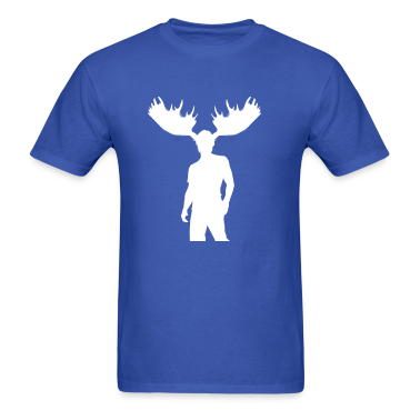 Men's Moose Tee (White)