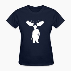 Women's Moose Tee (White)