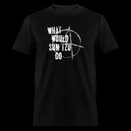 T-Shirts ~ Men's T-Shirt ~ What Would Sun Tzu Do - Abyss