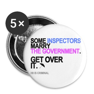 Some Inspectors Marry The Government Long Sleeve White - Small Buttons