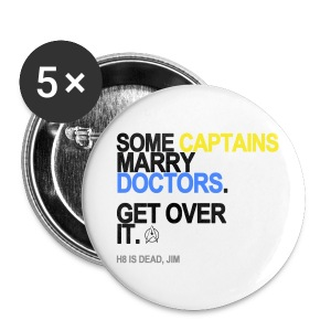Some Captains Marry Doctors Button - Small Buttons