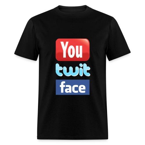 Twit Face - Men's T-Shirt