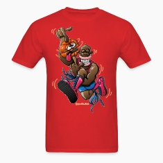 Acrobatic Basketball T-Shirts