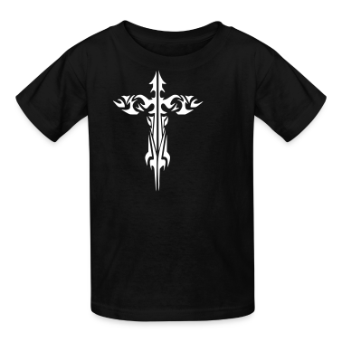 tribal cross Kids' Shirts