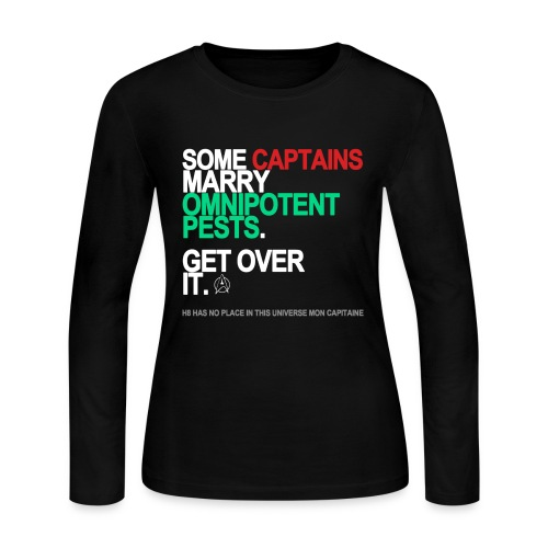 Some Captains Marry Pests Long Sleeve - Women's Long Sleeve Jersey T-Shirt