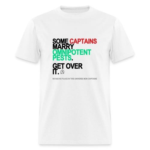 Some Captains Marry Pests Men's White - Men's T-Shirt