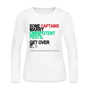 Some Captains Marry Pests Long Sleeve White - Women's Long Sleeve Jersey T-Shirt