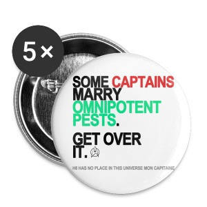 Some Captains Marry Pests Button - Small Buttons