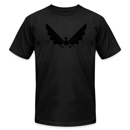 LOA - fuzzy black on black! - Men's  Jersey T-Shirt