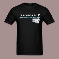 Real Input For Real Men - Men's T-Shirt