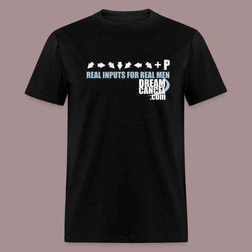 Real Input For Real Men - Men's T-Shirt