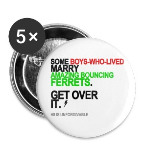 Some Boys-Who-Lived Marry Ferrets Button - Small Buttons