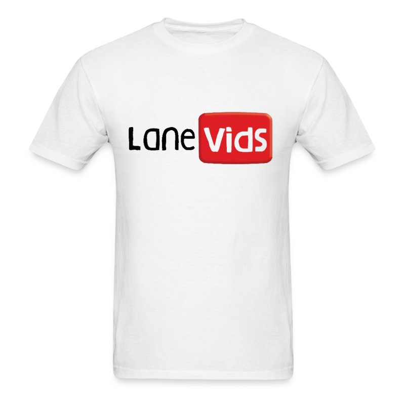 LaneVids White - Men's T-Shirt