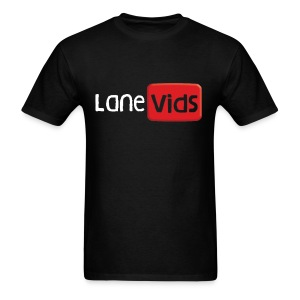 LaneVids Black - Men's T-Shirt