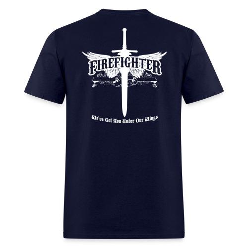 Firefighter Wings - Men's T-Shirt