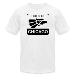 Hecho En Chicago Dark - Men's Fine Jersey T-Shirt