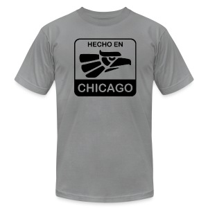 Hecho En Chicago Dark - Men's T-Shirt by American Apparel