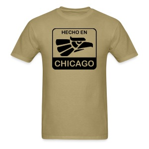 Hecho En Chicago Dark - Men's T-Shirt