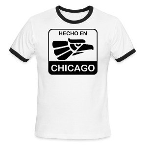 Hecho En Chicago Dark - Men's Ringer T-Shirt