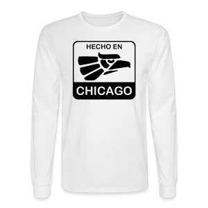 Hecho En Chicago Dark - Men's Long Sleeve T-Shirt