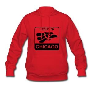 Hecho En Chicago Dark - Women's Hoodie