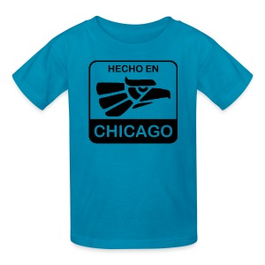 Hecho En Chicago Dark - Kids' T-Shirt