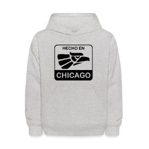 Hecho En Chicago Dark - Kids' Hoodie