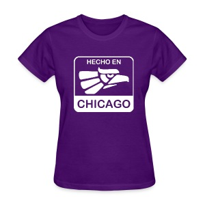 Hecho En Chicago Light - Women's T-Shirt