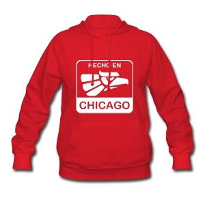 Hecho En Chicago Light - Women's Hoodie