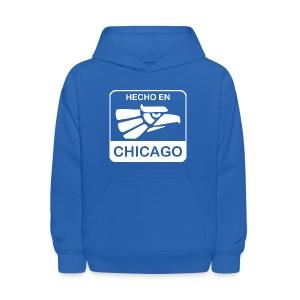 Hecho En Chicago Light - Kids' Hoodie