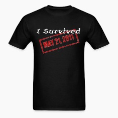Men's I survived T-shirt